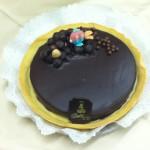 strpitosa crostata con ganache di puro cioccolato